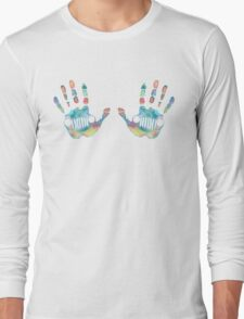 Jeep wave  Long Sleeve T-Shirt