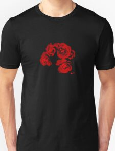 Blood-Red Roses Unisex T-Shirt