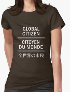 Global Citizen Womens Fitted T-Shirt