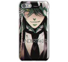 black butler: undertaker iPhone Case/Skin