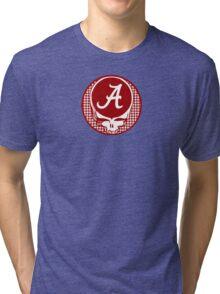 Grateful Dead Alabama Crimson Tide Tri-blend T-Shirt