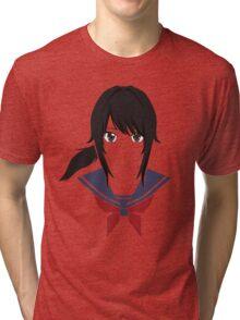 Yandere chan Tri-blend T-Shirt