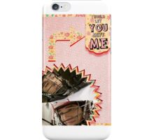 My Teenwolfed Valentine[I'd Let You Sniff Me] iPhone Case/Skin
