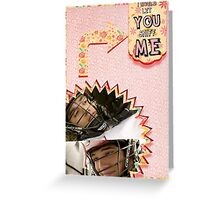 My Teenwolfed Valentine[I'd Let You Sniff Me] Greeting Card