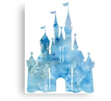 Watercolor Castle Metal Print