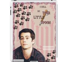My Teenwolfed Valentine[I'll be Your Little Spoon] iPad Case/Skin