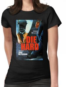 DIE HARD 13 Womens Fitted T-Shirt
