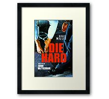 DIE HARD 13 Framed Print