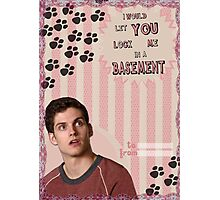 My Teenwolfed Valentine[I Would Let You Lock Me] Photographic Print