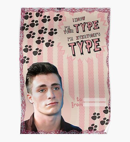 My Teenwolfed Valentine[I know I'm Your Type] Poster