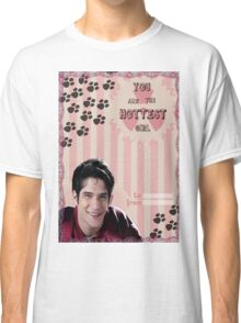 My Teenwolfed Valentine[You Are The Hottest Girl] Classic T-Shirt