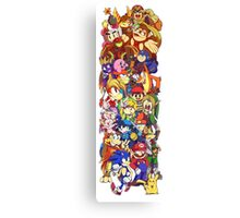 Video Game Fuel Canvas Print