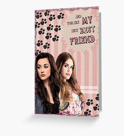 My Teenwolfed Valentine[New Best Friend] Greeting Card
