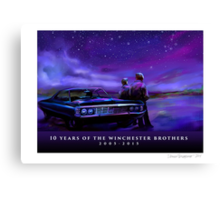 Impala Nights Canvas Print