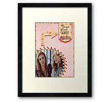 My Teenwolfed Valentine[New Best Friend] 2 Framed Print