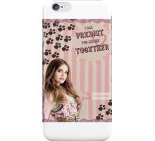 My Teenwolfed Valentine[I Can Predict Us] iPhone Case/Skin