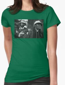 Mos Def and Talib Kweli Womens Fitted T-Shirt