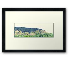 Unique Mountain - Panorama II Framed Print