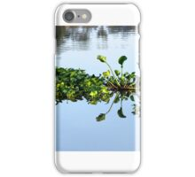 Floating leaves iPhone Case/Skin
