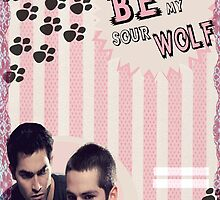 My Teenwolfed Valentine[Please Be My Sour Wolf] by thescudders