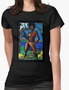 Bad Girls of Motion Pictures #4 (of 7)- Agent Rosie Carver Womens Fitted T-Shirt