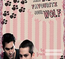 My Teenwolfed Valentine[You Are My Favourite Sour Wolf] by thescudders