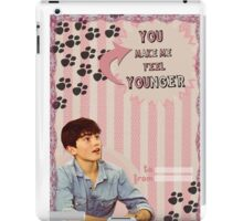 My Teenwolfed Valentine[You Make Me Feel Younger] iPad Case/Skin
