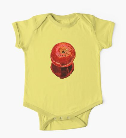 Red Apple One Piece - Short Sleeve