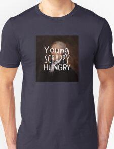 Young, Scrappy, Hungry - Alexander Hamilton portrait Unisex T-Shirt