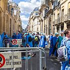 Demonstration of Hospital Workers, Paris, France by Elaine Teague