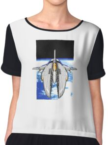 16-Bit Spacecraft Chiffon Top