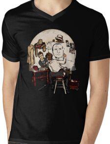 Doctor Rockwell Mens V-Neck T-Shirt