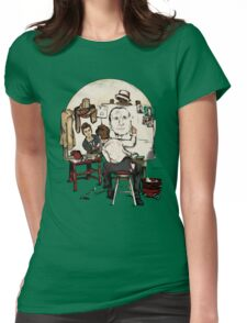 Doctor Rockwell Womens Fitted T-Shirt