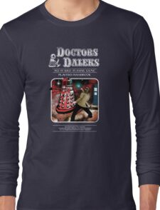 Doctors & Daleks Long Sleeve T-Shirt