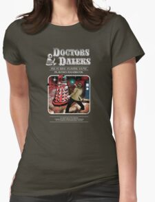 Doctors & Daleks Womens Fitted T-Shirt