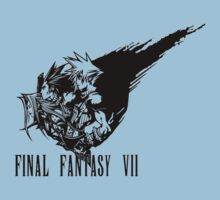 Final Fantasy VII logo by fabuluss92