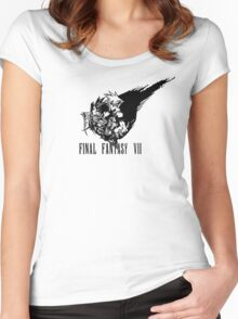 Final Fantasy VII logo Women's Fitted Scoop T-Shirt