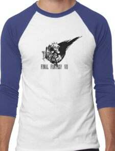 Final Fantasy VII logo Men's Baseball ¾ T-Shirt
