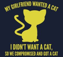 We Compromised And Got A Cat by DesignFactoryD