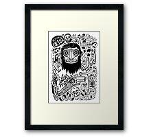 Idées noires Framed Print