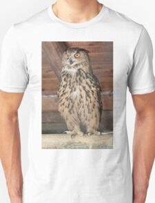 owl in the mountains Unisex T-Shirt