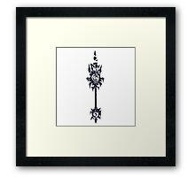 Ebonchill - Daryl Framed Print
