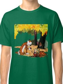 Calvin and Hobbes Treasure Hunter Classic T-Shirt