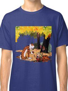 Calvin and Hobbes Treasure Hunter Classic T-Shirt