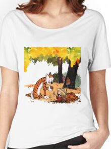 Calvin and Hobbes Treasure Hunter Women's Relaxed Fit T-Shirt