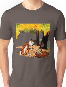 Calvin and Hobbes Treasure Hunter Unisex T-Shirt