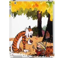 Calvin and Hobbes Treasure Hunter iPad Case/Skin