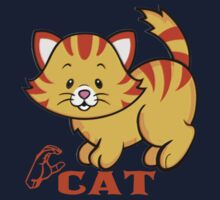 C is for Cat - ASL Kids Tee