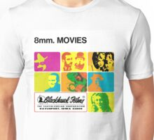 8mm. MOVIES Unisex T-Shirt