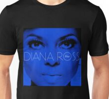 diana ross blue picture best vecktor dolly Unisex T-Shirt